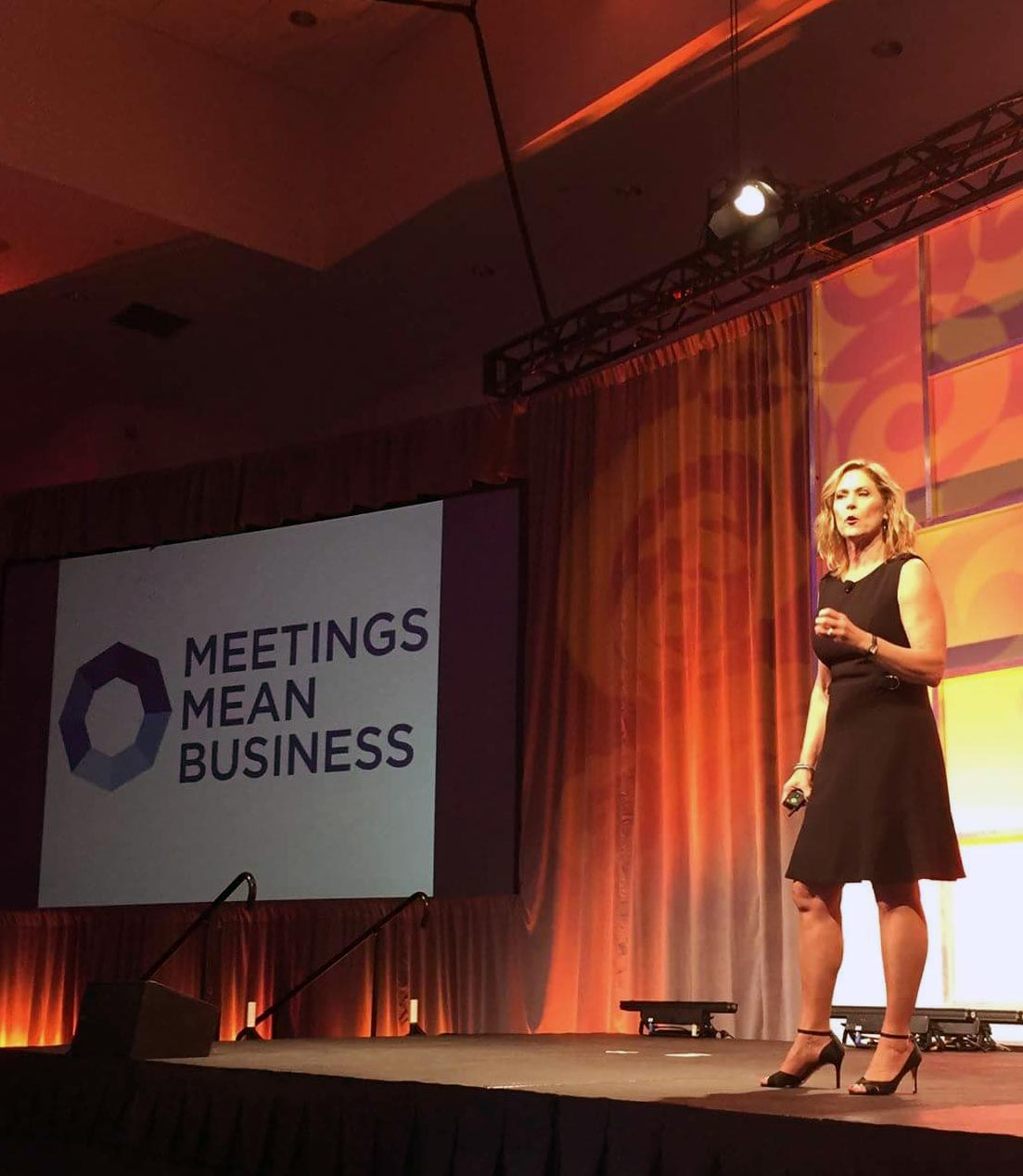 Deborah Gardner at Meeting Mean Business
