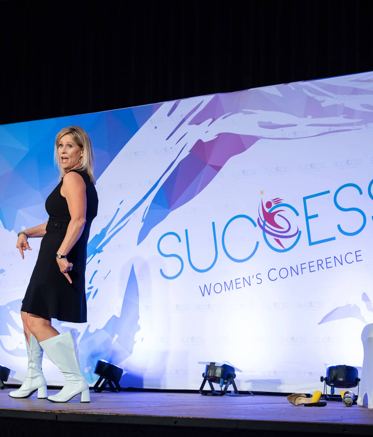 Deborah Gardner at Success for Women's Conference